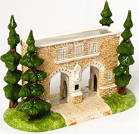 The first-ever miniature Arches commissioned for the 125th anniversary of St. Thomas.