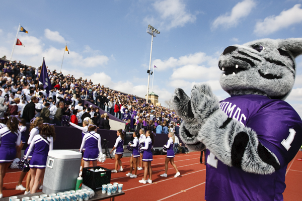 Watch for Tommie the mascot at homecoming!
