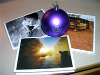 UST ornaments and greeting cards will help fund VISION service trips.