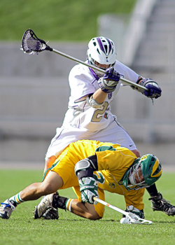 Tommy Hoffman and the Tommies' defensive crew were key to Saturday's victory in the national championship game.