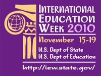 International Education Week 2010