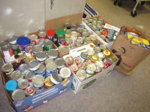 Over the past two years, a total of 444 pounds of food (472 food items) have been collected by the libraries of St. Thomas.