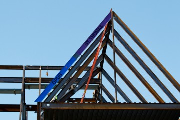 Anderson Student Center Topping Out Ceremony