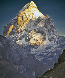 Spectacular in its beauty, about 80 percent of Nepal is mountains and hills.