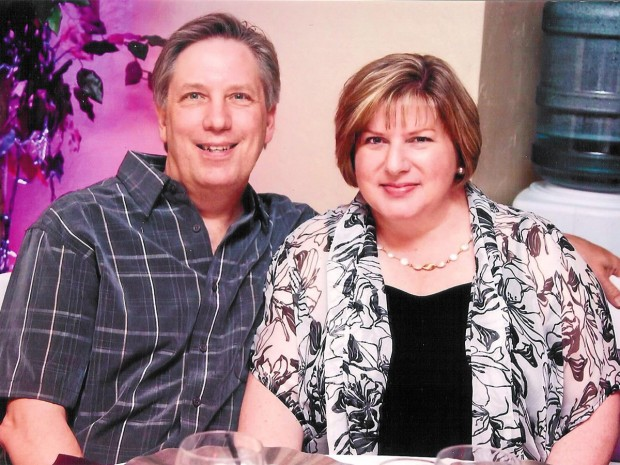 Mike and Suellen McGowan, 2012.