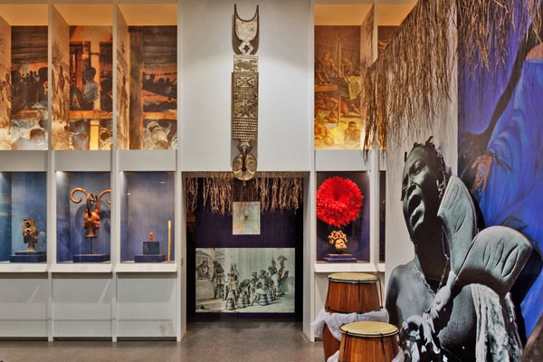 Another view of the AfroBrazil Museum.