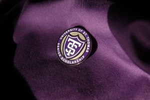 Students who give to the Senior Class Gift will be recognized with a special lapel pin.