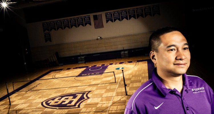 St. Thomas Volleyball Coach Thanh Pham