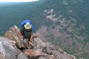 School of Law alum Mike Hanson hikes the appalachian trail