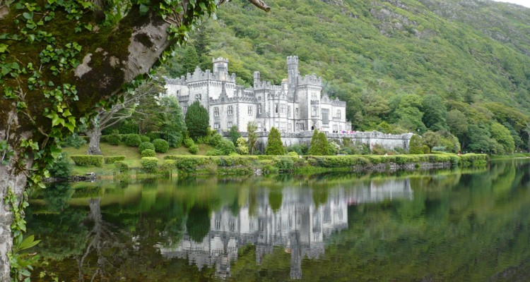 Third Place, Sense of Place: Photo by Evan Steeves, Kylemore Abbey, Ireland. National University of Ireland, Galway Irish Language Summer Course 2014