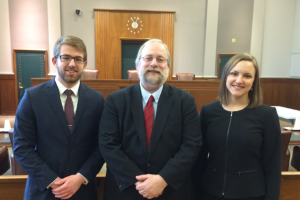 Students from the University of St. Thomas Appellate Clinic argue before judges in the United States Court of Appeals for the Ninth Circuit on behalf of a pro bono client.