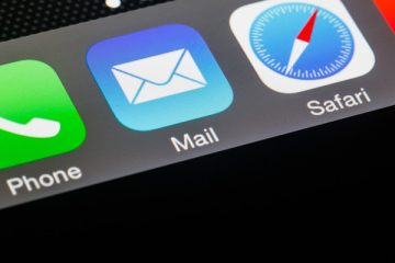 Mail, Safari, iTunes Music and other social media app (application) badges and icons glow on an iPhone 6 smartphone in a studio photo taken on January 13, 2015.