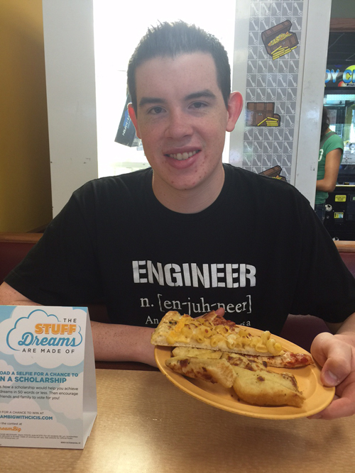 Otto submitted this photo taken in the Cici's location in Rochester, Minnesota.