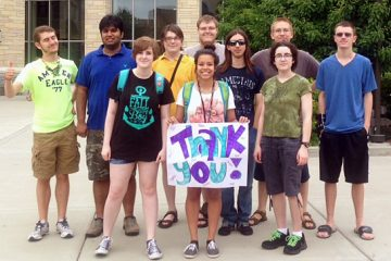 University of St. Thomas collaborated with Minnesota Life College (MLC) to create the College Pre-Orientation Program (POP), a week-long overnight event to help students with ASD and other special needs to be prepared to participate in college orientation programs and succeed in college.