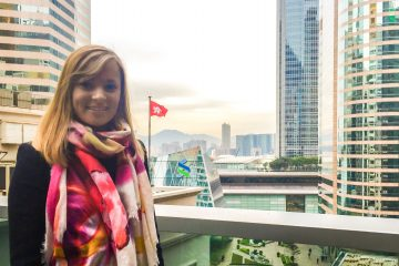 Sydney Corliss '15 in Hong Kong
