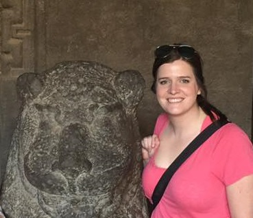 Katie Kriesel, Part-time Flex MBA student, traveled to India for J-term in January 2016.