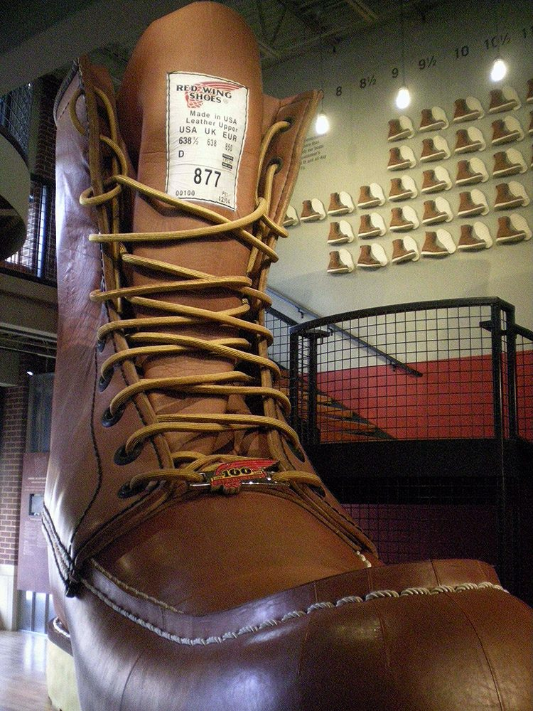 Largest Boot in Red Wing