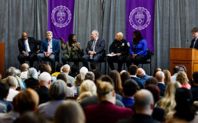 Panel on public safety and racial justice