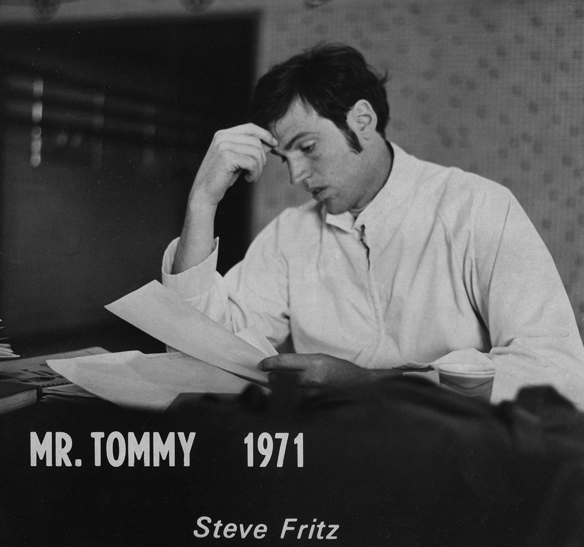 purple and gray st thomas newsroom fritz was d mr tommy in 1971
