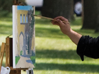 A new oil painting of the Arches will be unveiled Sept. 24.