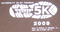 This design was featured on the Wellness 5K T-shirt.