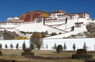 The Potala Palace was the Dalai Lama's primary residence for several centuries.