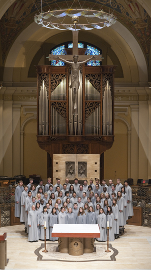 UST's Liturgical Choir will present its annual benefit concert April 25 in the Chapel of St. Thomas Aquinas.