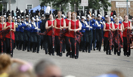 The pageantry and music of marching bands will fill the streets of downtown Owatonna on Saturday, June 19.