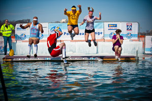 Does this look like fun or what? (Photo courtesy of Minneapolis Polar Bear Plunge.)