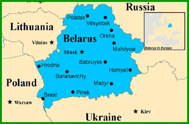 Belarus Small Country Big Problems St Thomas Newsroom - Where is belarus