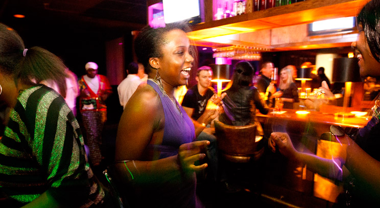 """Most Friday and Saturday nights are dedicated to going out with friends – usually starting no earlier than midnight. One difference between clubs in Minnesota and Kampala, according to Olivia? """"For one, clubs here close at 2 a.m., not 4 a.m."""""""