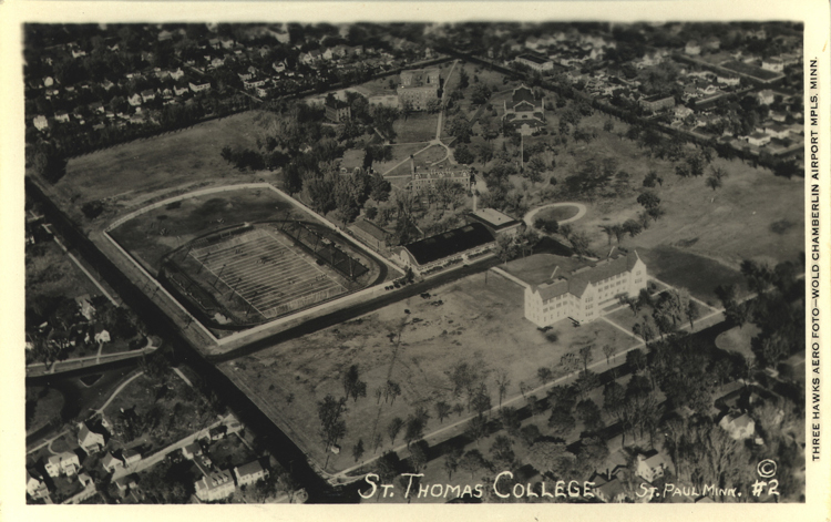 The campus in 1932.