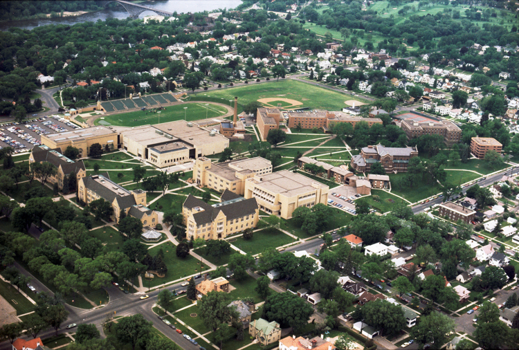 The St. Paul campus in 1981.