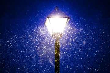 Snow in Light