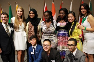 Globally Minded Student Organization board members.