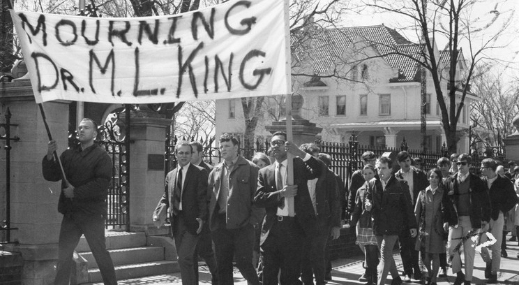 Martin Luther King demontration