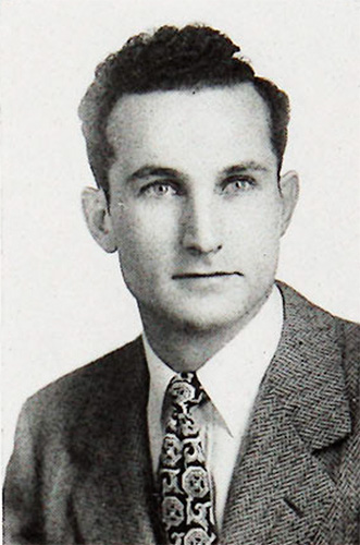 John Coskran in his 1947 yearbook photo