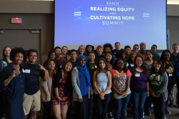 High school students from across the Twin Cities attend the R.E.A.C.H. Summit on Sept. 12. (Photo provided)