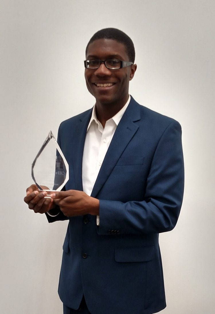 Amiri Brotherson won Best Presenter award at the 2015 NBMBAA National Conference.