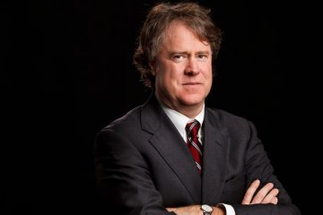 University of St. Thomas School of Law professor Mark Osler poses for a studio portrait on December 6, 2012. Osler was photographed for graduate education promotional materials.