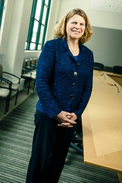 Dr. Penny Wheeler, president and chief executive officer of Allina Health, poses for a portrait in Allina's Minneapolis offices March 4, 2016. Wheeler is joining the Opus College of Business board of governors.