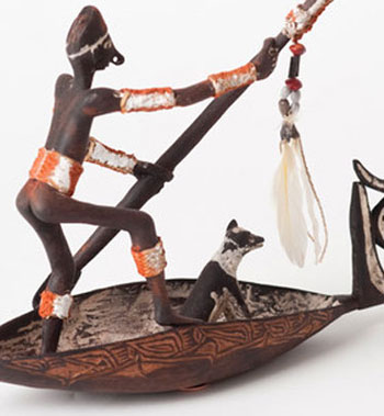 From the collection of the American Museum of Asmat Art