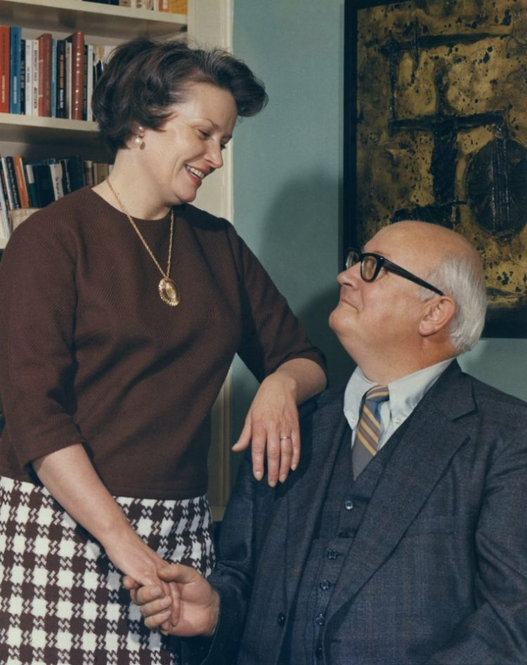 Dr Robert White and his wife Patsy