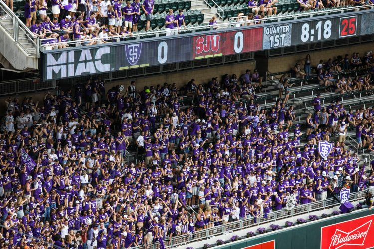 Tens of thousands of fans were on hand at Target Field for the 87th Tommie-Johnnie football game.