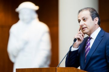 Preet Bharara at the University of St. Thomas law school