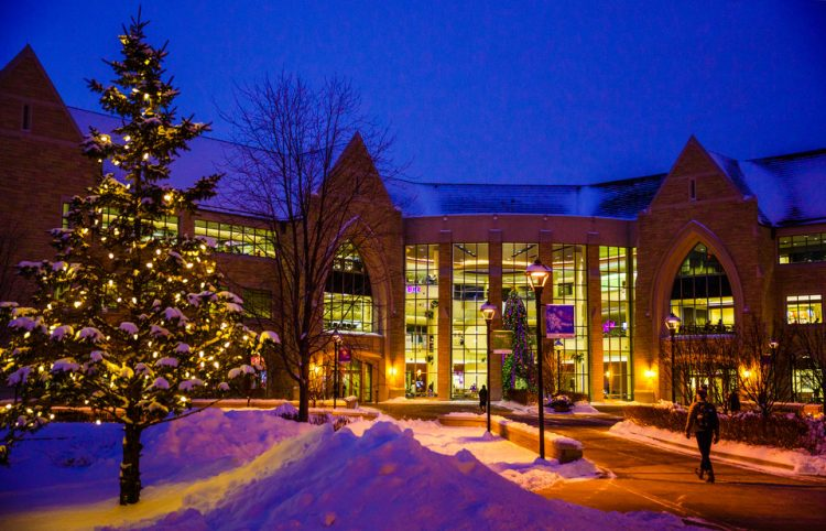 Anderson Student Center Christmas
