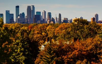 The Minneapolis skyline (Photo by Mike Ekern '02)