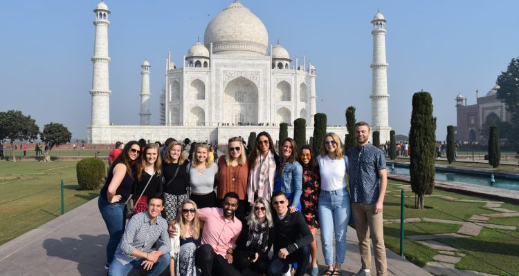 Over J-term, more than a dozen UST students – both undergrad and grad – took part in the Schulze School of Entrepreneurship's Social Entrepreneurship in India course in Mumbai where they learned first-hand about India's social and environmental needs.