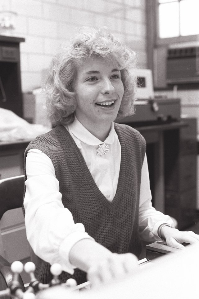 Laura Widerski was Tommie of the Year in 1988