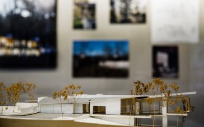 An exhibit from the Voorsanger Architects Archive